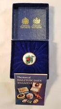 Halcyon Days Enamels Bilston & Battersea Enamel Pill Box -Ladybug