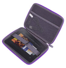 """EVA Purple Case For Amazon Kindle Fire HD 8.9"""" With Storage Pocket & Inner Strap"""