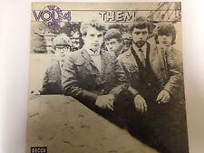Them, The Begining Vol 4, R&B Decca Label Lp Record (Van Morrison)