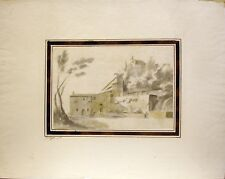 Giuseppe Zais Watercolor: Romantic Landscapes (Vederte di Aventin)