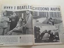 TV sorrisi e canzoni illustrazione_n.41 del 1965_THE BEATLES HELP_LENNON