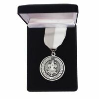 Boy Scout Official Sea Scout Area Leadership Award Medal w Presentation Box New