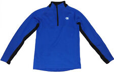 Gap Fit Kids Mesh Running Jacket XL 14/16 Blue & Black Longsleeve Top NEW 153590