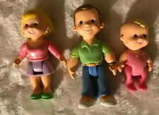 Fisher Price My First Dollhouse Family Mom Dad Baby