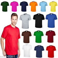 Mens Plain T-Shirt Size XS to 6XL 100% Cotton Soft Premium Classic NEW UK STOCK