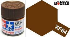 Acrylic Paint - Colore Acrilico Vernice 10ml XF-64 XF64 RED BROWN 81764 Tamiya