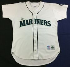 Vintage Mariners Bell #25 Baseball Russell Diamond Collection Jersey Size44