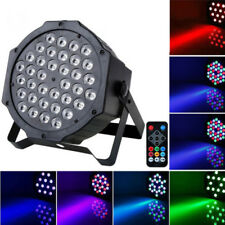 Colorful Par 36LED RGB Magic Effect light DMX512 Disco DJ Stage Lightin + Remote