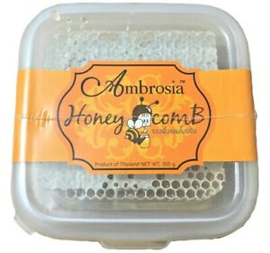 Honeycomb Edible Ambrosia 100% Pure Honey Ready to Eat 10.58 oz