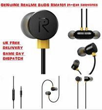 Genuine Realme RMA101 In-Ear Handsfree Earphones earbuds for Iphone & Android
