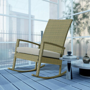 Patio Rocking Chair Rocker Deck Outdoor Furniture