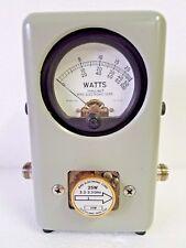 Bird 43 Thruline Wattmeter w/ (3) 25M Elements 25W 2.2 - 2.3 GHz & Original Case