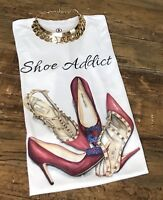 SHOES ADDICT Woman Winter Blouse Tee Woman T-shirt S,M,L,XL,2XL Casual Ladies