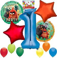 Angry Birds 2 Party Supplies Balloon Decoration Bundle for 1st Birthday