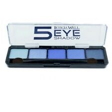Lidschatten 5 Farben-Make Up-Eyeshadow-Highlighter Palette-Kosmetik Blau Nr.1