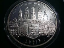 """Ukraine,10 hryven coin """"10 years entered in the register of UNESCO"""" Silver 2008"""