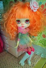 OOAK CUSTOM BLYTHE Art Doll By Soledad Blythe