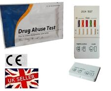 5 in 1 Drug Testing Kit (Cannabis, Cocaine, Speed, Heroin, MDMA)