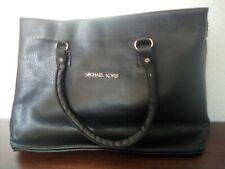 Damentasche, Handtasche, Michael Kors, Leder, schwarz
