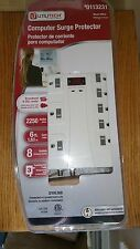 New listing Utilitech Power Strip Computer Surge Protector Rj11 8 Outlet Utpb4120 ~ New