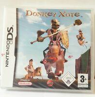 Gioco Nintendo DS Donkey Xote Asino Raro Sigillato Oltre 40 Mini Giochi Nuovo