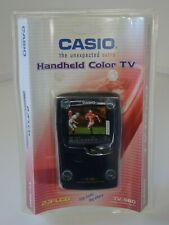 "Vintage Casio Handheld Color 2.3"" Color Lcd Analog Tv Tv-980 Black Open Box"