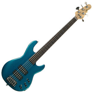 G&L L2500 Fretless Five Strings Bass Guitar  Made In USA.