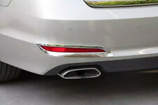 Triple Chrome Rear Fog Light Cover Trim for Hyundai Sonata MK9 2015-2017 Tail