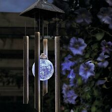 Gardman Solar Wind Chime Garden Light 18356