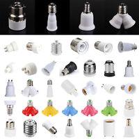 G23/GU10/E27/B22 auf E27/E12/E14 Glühbirne Lampenfassung Lampensockel Adapter DE