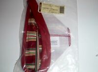 Longaberger 2004 Holiday Helper Holiday Stripe Basket Liner NEW