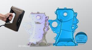 EinScan Pro HD Handheld 3D Scanner- 0.2mm Resolution- SolidEdge 3D CAD Software