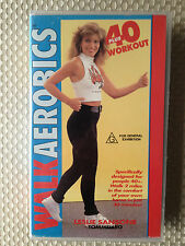 WALK AEROBICS with LESLIE SANSONE ~ WORKOUT DESIGNED FOR 40+ ~ VHS VIDEO