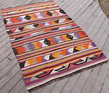Turkish Kilim 46''x70'' Handwoven Antalya Kilim 118x180cm Tribal Vintage Rug