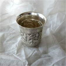 Antique German 800 Silver Beaker Goblet Hanau 18th Century style 193 grams