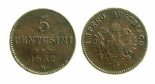 pcc1838_88) LOMBARDO VENETO  - 5 centesimi 1852 Milano