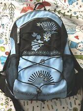 4you Rucksack Blau Schwarz mit Regenschutz