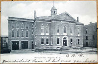 1906 Postcard: Municipal Hall - Herkimer, New York NY