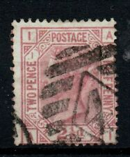 Gb Fine Used Sg 139 21/2d Mauve Plate 1 Position Ai as scan