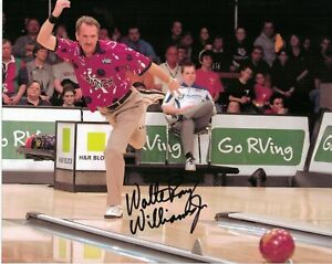 Walter Ray Williams Jr PBA Bowler Bowling Signed Autographed Glossy 8 x 10 Photo
