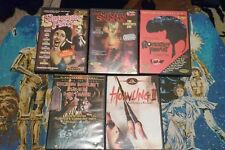 Lot of 5 Horror Sci-Fi Troma DVD Rockabilly Vampire Howling 2 Stendhal Slaughter