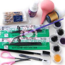 Pro Makeup False Fake Eyelash Eye Lashes Extension Cosmetic Set Kit Glue Tool