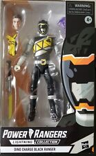 New listing Power rangers lightning collection dino charge black ranger