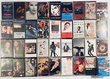 Build Ur Own Lot Rock Pop Metal 80s 90s Cassette Tape Madonna U2 Jackson Rush
