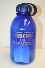 Unused CHP California Highway Patrol Air Operations Sports Water Bottle MINT