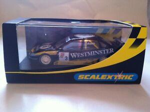 Scalextric Opel Vectra 'Westminster' No.3 C2144 QC Échantillon COA