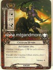 Lord of the Rings LCG - 1x Chieftan Ufthak #090