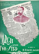 The Philadelphia Record March & Two Step, H. Engelmann,  played by Sousa's Band
