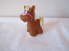 Fisher Price Little People Horse pony colt baby pink farm trailer barn nativity