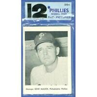 VINTAGE 1961 PHILADELPHIA PHILLIES PICTURE PACK (12) CARD SET BY JAY PUBLISHING